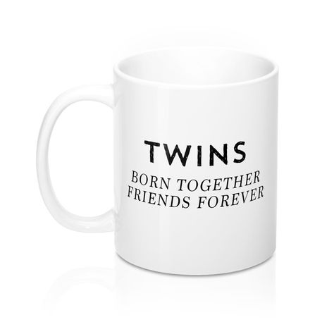 Twins Gift Twin Sister Coffee Mug Best Friend Gifts Birthday Present Ideas Mom Of Funny Mugs For Ceramic
