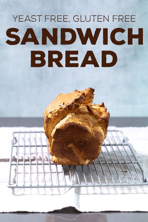 Yeast Free Gluten Free Bread for Sandwiches | Gluten Free