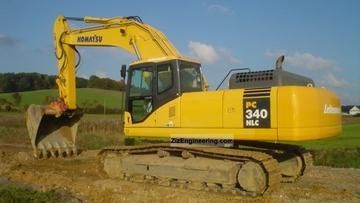 Komatsu Pc340 Pc340lc 6k Pc340nlc 6k Hydraulic Excavator Service Repair Shop Manual Hydraulic Excavator Excavator Hydraulic