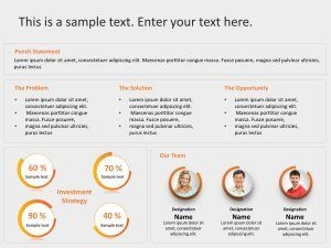 Use Startup Executive Summary Powerpoint Template To Showcase The