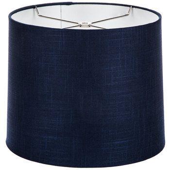 Navy Blue Linen Lamp Shade Blue Lamp Shade Linen Lamp Shades Navy Blue Lamp Shade