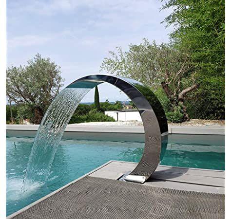 Fontaine de Piscine Lame d/'eau Cascade Jardin natation décoration Outdoors
