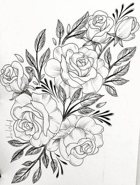 """Schablone /"""" Blumen machen.. /"""" auf A4"""