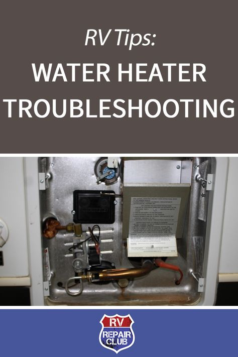 Water Heaters Located In An Rv Operate Similar To Those Found In A Home They Are Just A Smaller Capacity Whic Rv Water Heater Rv Water Water Heater