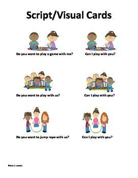 Social Skills Asking To Play Joining In Play Teaching Visuals Data Collection Social Skills Social Activities Skills