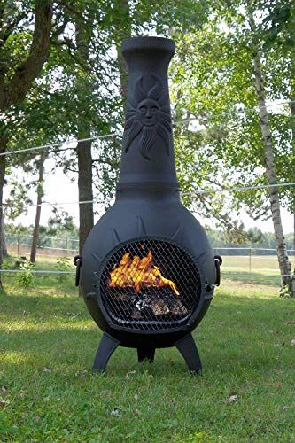 Chiminea Fire Pit Reviews Of The Top 10 Chiminea Fire Pits Chiminea Chimenea Chimineafirepit Fireplacelab Chiminea Fire Pit Fire Pit Chiminea
