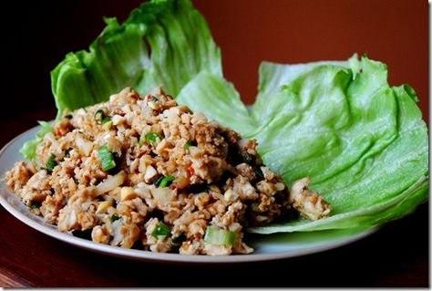 copycat recipe for PF Changs Lettuce Wraps - really good!  whole family liked these!