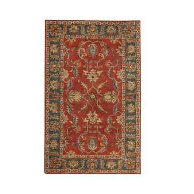 Home Decorators Collection Aristocrat Rust Red 2 Ft X 3 Ft Area Rug Rustichomedecor Rugs On Carpet Area Rugs Home Decorators Collection