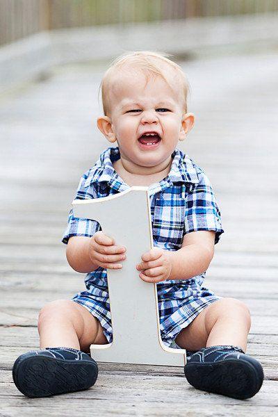 Baby Boy Photo Props | 1st Birthday Photo Ideas & Props