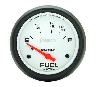 Autometer 2 5 8in Phantom Fuel Level Gauge 5815 In 2020 Gauges Electricity Premium Cars