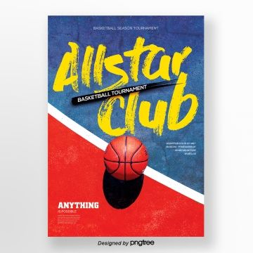 Creative Basketball Sports Posters