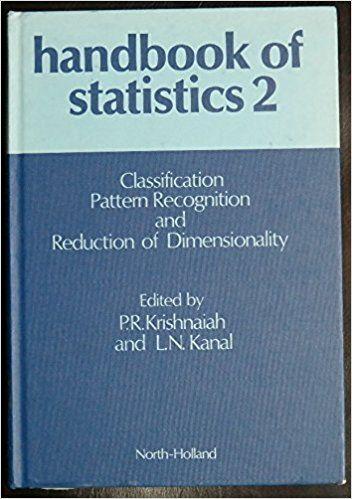 Handbook Of Statistics 2 Classification Pattern Recognition