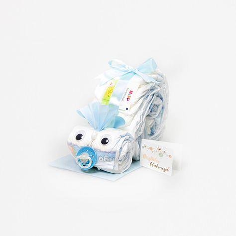 Babyschuh Booties Geschenk Windelgeschenk Windeltorte *Körbchen Baby Junge