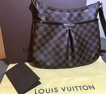 ee7de5aa19 AUTHENTIC Louis Vuitton Bloomsbury PM In Damier Canvas