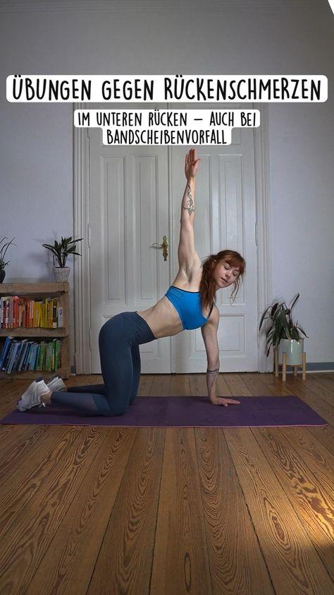 Übungen gegen Rückenschmerzen - Mobility & Stabi auch bei Bandscheibenvorfall