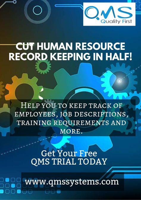 CUT HUMAN RESOURCE RECORD KEEPING IN HALF!