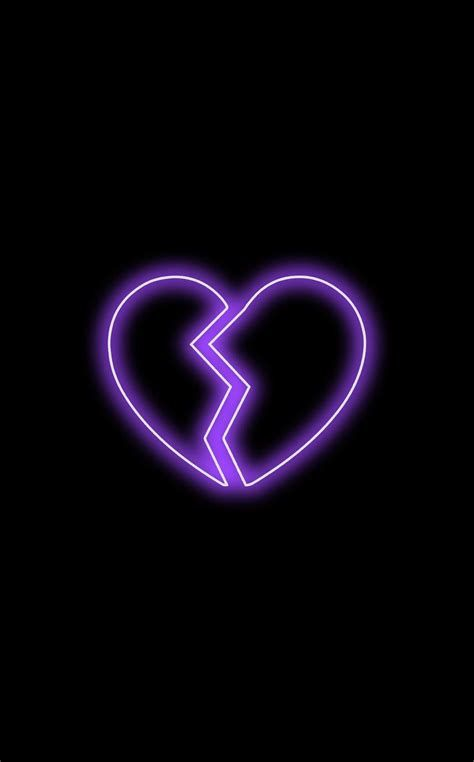 Wallpapers In 2020 Purple Wallpaper Iphone Iphone In 2021 Broken Heart Wallpaper Neon Wallpaper Heart Wallpaper