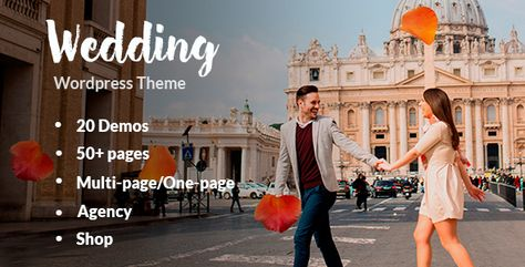 Wedding - Responsive Wedding Theme ⠀ Wedding is clean, flat, and modern one page and multi-page site Wedding theme. Each demo has different features so we can fit your taste better. Play with animation that we used, you can use animat... ⠀ # #bride #couple #elegantweddingtemplate #family #groom #invitation #love #responsiveweddingtheme #themeforest #verothemes #weddingagency #weddingmultipage #weddingonepage #weddingwebsite #wordpress #onepage #responsive #wedding