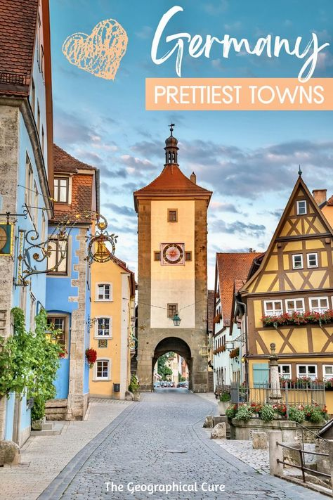 Guide To Germany's Most Beautiful Towns