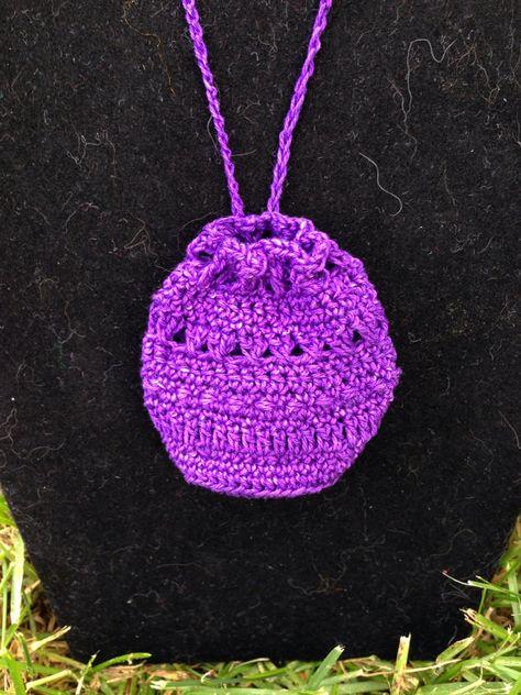 Amulet Bag crochet by IzzyAvenue on Etsy
