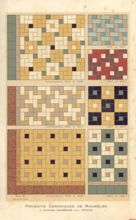 Vintage Tiles Salle De Bains Annees 30 Carreau Carrelage Mural