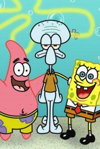 Spongebob Patrick And Squidward : spongebob, patrick, squidward