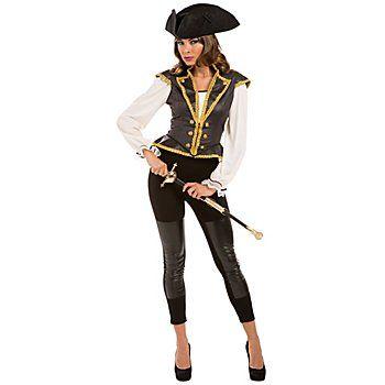 kostüm pirat damen butinette