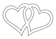 Herz Basteln 4 Herz Vorlage Herzschablone Herz Basteln 3