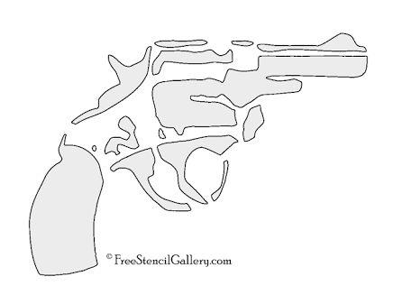 Gun Stencil