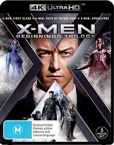 X Men 3 Film Collection 4k Uhd Blu Ray X Men X Men 2 Last Stand Non Usa Format Region B Import Australia Nifty X Men Trilogy X Men Apocalypse