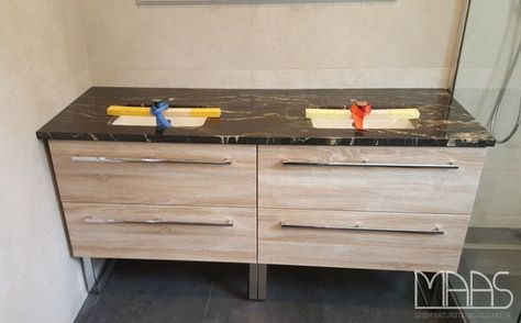 607 best MAAS GmbH images on Pinterest Granite countertop edges - k che sideboard mit arbeitsplatte