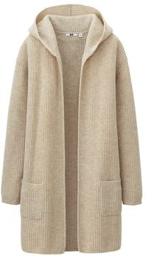 ShopStyle | Womens sweater coats, Uniqlo women outfit