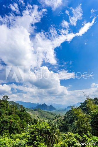Beautiful Landscape Nature Of Rain Forest And Mountain Background Sponsored Nature Landscape Beauti In 2020 With Images Beautiful Landscapes Mountain Background Landscape