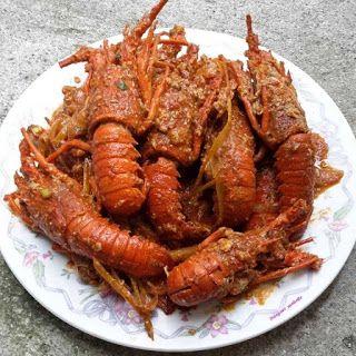 Lobster Saus Padang Resep Lobster Resep Masakan Resep Seafood