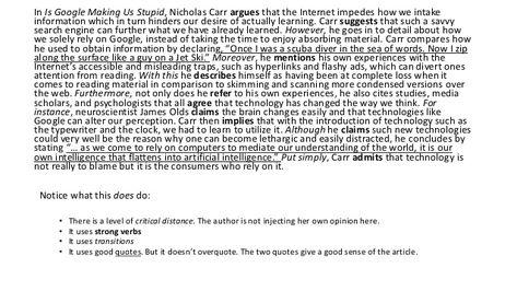 I Google Making U Stupid Essay Summary Opinion Of Professional Word Thesi Pdf