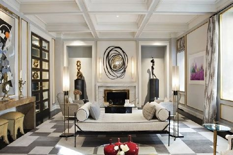 sophisticated living room. Sophisticated living room designs by Jean Louis Deniot  rooms Living and
