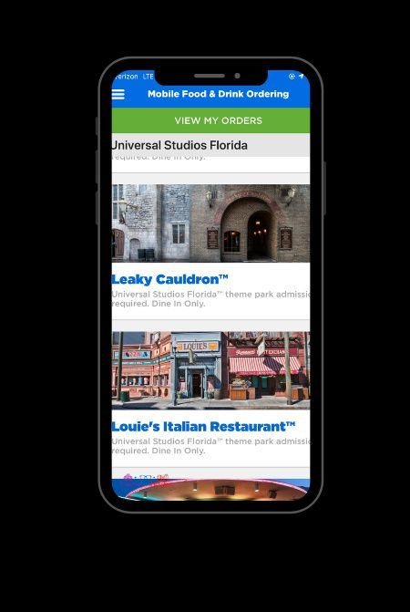 Why You Have To Try Universal Orlando Food Mobile Ordering Universal Orlando Universal Studios Orlando Planning Island Of Adventure Orlando