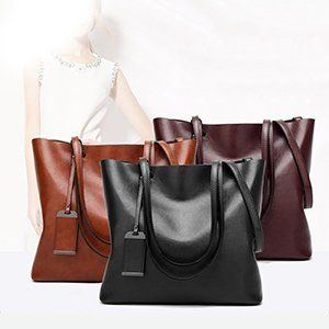 Amazon.com  ALARION Women Top Handle Satchel Handbags Shoulder Bag  Messenger Tote Bag Purse  Clothing 52b5034f30