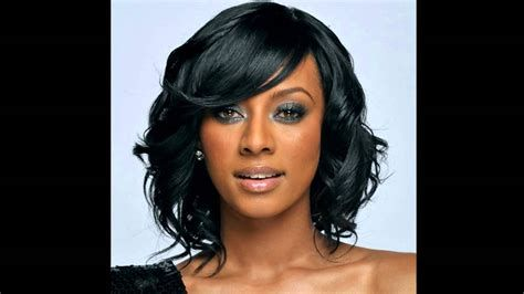 Medium Hairstyles African American Hair Youtube In 2020 Medium Hair Styles Medium Length Hair Styles Medium Black Hair