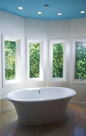 anna ric tub filled from ceiling home style pinterest tub ceiling and tubs