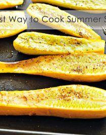 Oven Roasted Squash Recipe | Add a Pinch - Add a Pinch