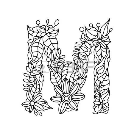 Znalezione Obrazy Dla Zapytania Litery Kolorowanka Coloring Books Coloring Pages Flower Coloring Pages
