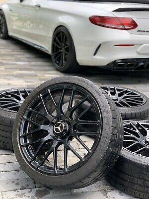 Advertisement Ebay 19 20 Inch Oem Mercedes C63 Amg Wheels Tires Set W205 Original 5x112 Mercedes C63 Amg Amg Mercedes C63
