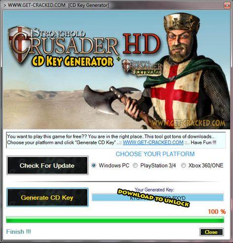 stronghold crusader 2 license key generator