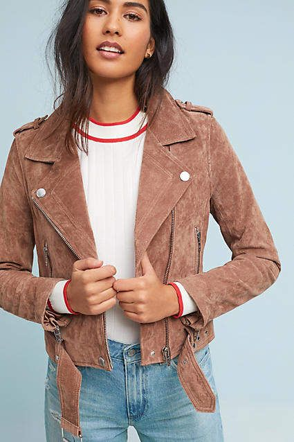 This leather jacket is perfect for teens. It's great quality