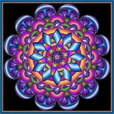 Resultado De Imagen Para Mandalas Coloreadas Imagenes De Mandalas Mandalas De Colores Mandalas Faciles