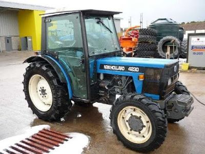 Ford New Holland 4230 4 Cylinder Orchard Tractor Master
