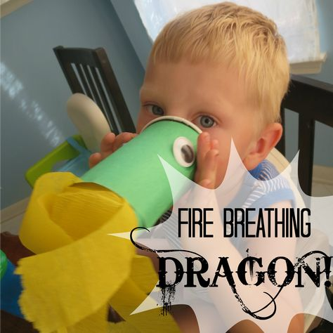 Fire-Breathing Dragon Craft - My Mundane and Miraculous Life