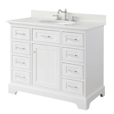 Luz 42 Single Bathroom Vanity Set Single Bathroom Vanity Half Bathroom Remodel Bathroom Remodel Cost
