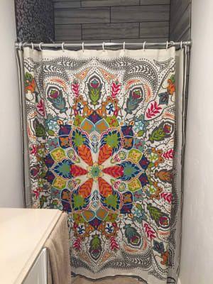 andana medallion shower curtain world
